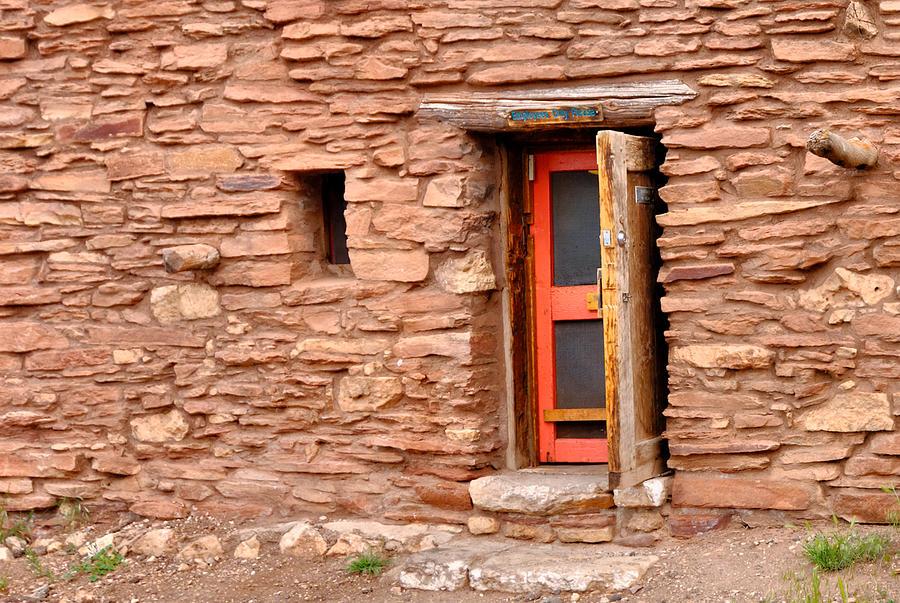 Hopi House Door Photograph
