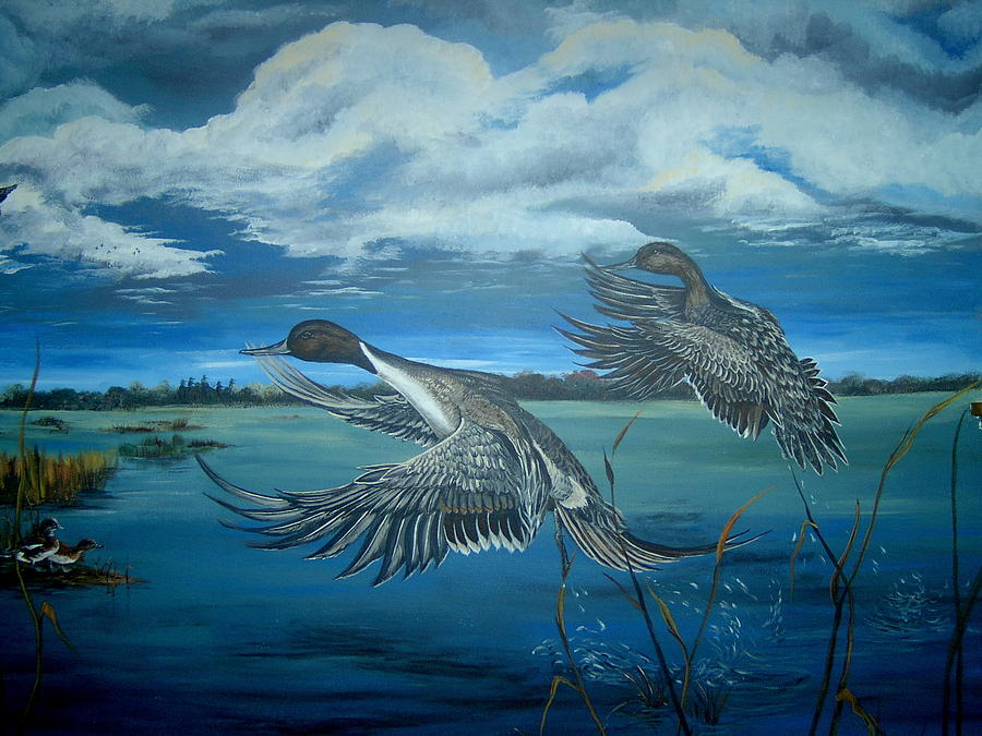 Horicon Marsh Painting  - Horicon Marsh Fine Art Print