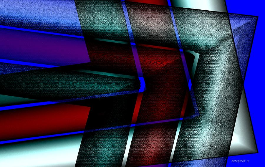 Horizontal Symmetry Digital Art  - Horizontal Symmetry Fine Art Print