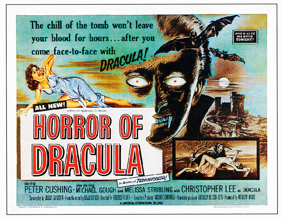 Horror Of Dracula, Poster Art, 1958 Photograph