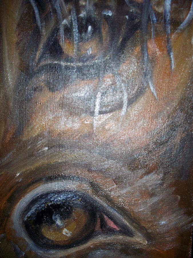 Horse Eyes Painting Horse Eyes Painting