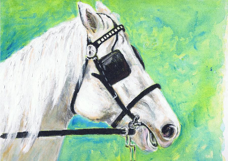 Quarter Horse Head Painting Horse Head Paintings