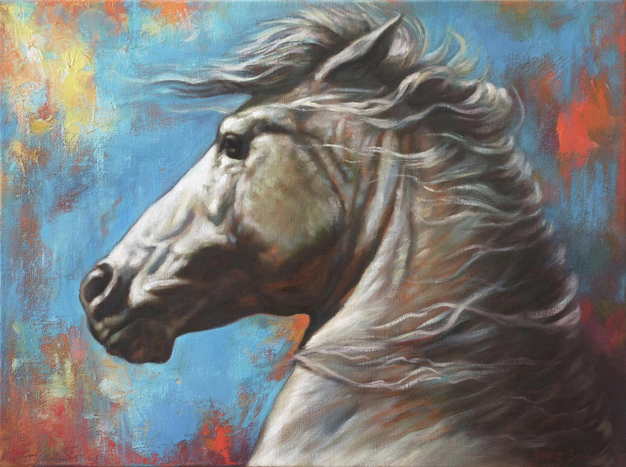 Horse Power Painting  - Horse Power Fine Art Print