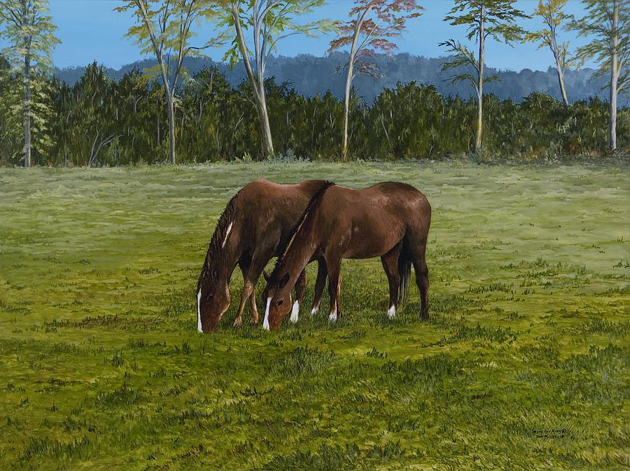 Horses Of Romance Painting