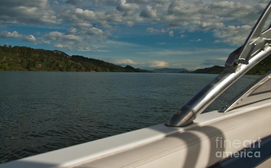 Horsetooth Reservoir Port Side View Photograph