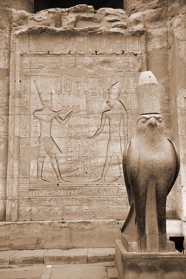 Horus Temple Photograph  - Horus Temple Fine Art Print