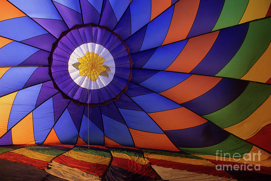 Hot Air Balloon 13 Photograph  - Hot Air Balloon 13 Fine Art Print