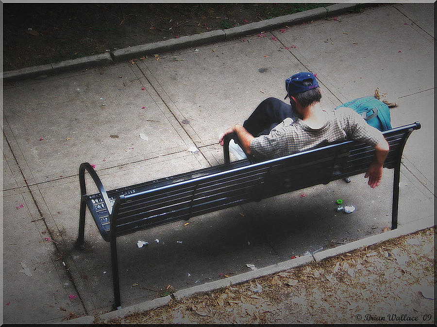 Hot And Homeless Photograph