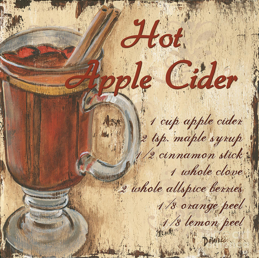 Hot Apple Cider Painting