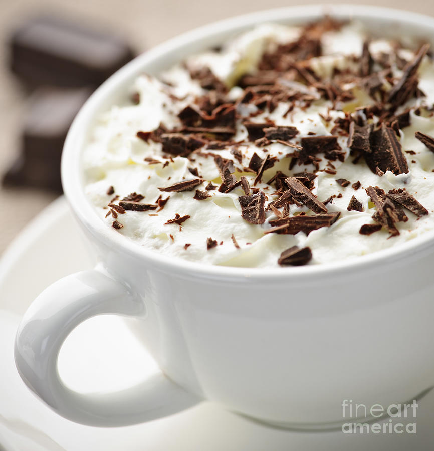 Hot Chocolate Photograph  - Hot Chocolate Fine Art Print