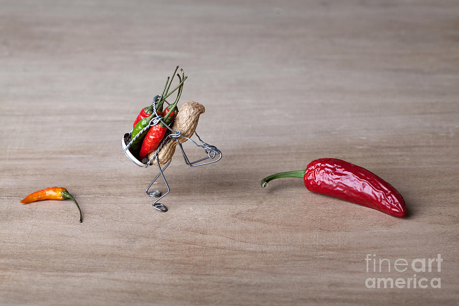Peanut Photograph - Hot Delivery 01 by Nailia Schwarz