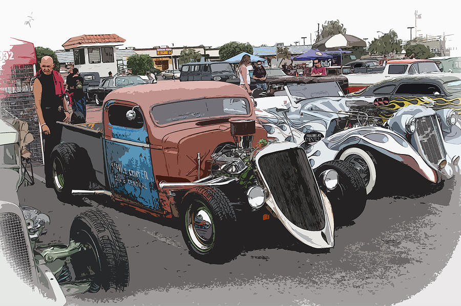 Hot Rods Photograph  - Hot Rods Fine Art Print