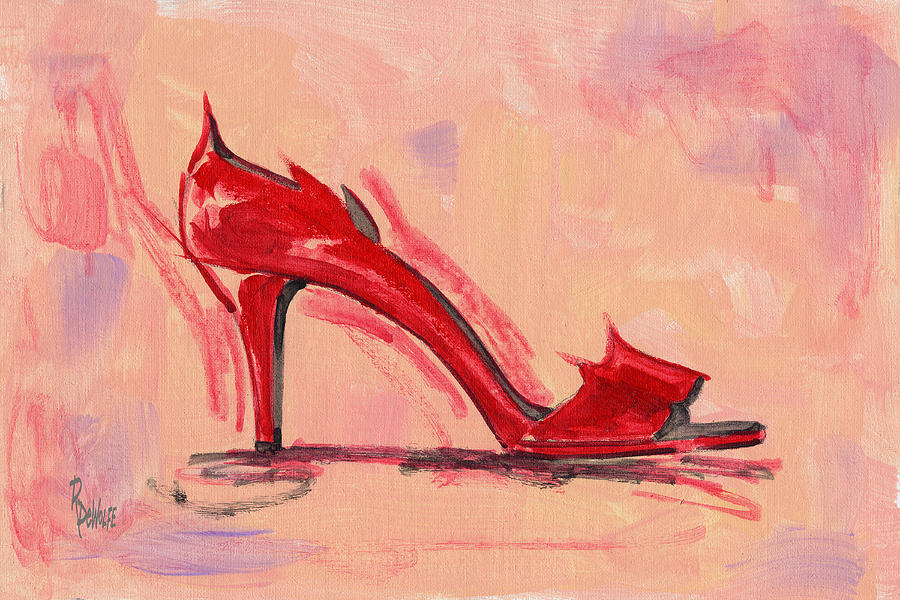 Hot Stuff Painting  - Hot Stuff Fine Art Print