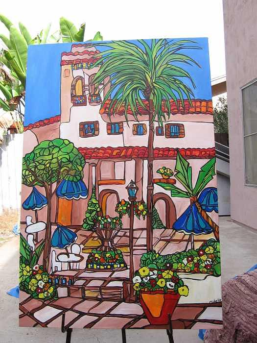 Hotel San Clemente Painting