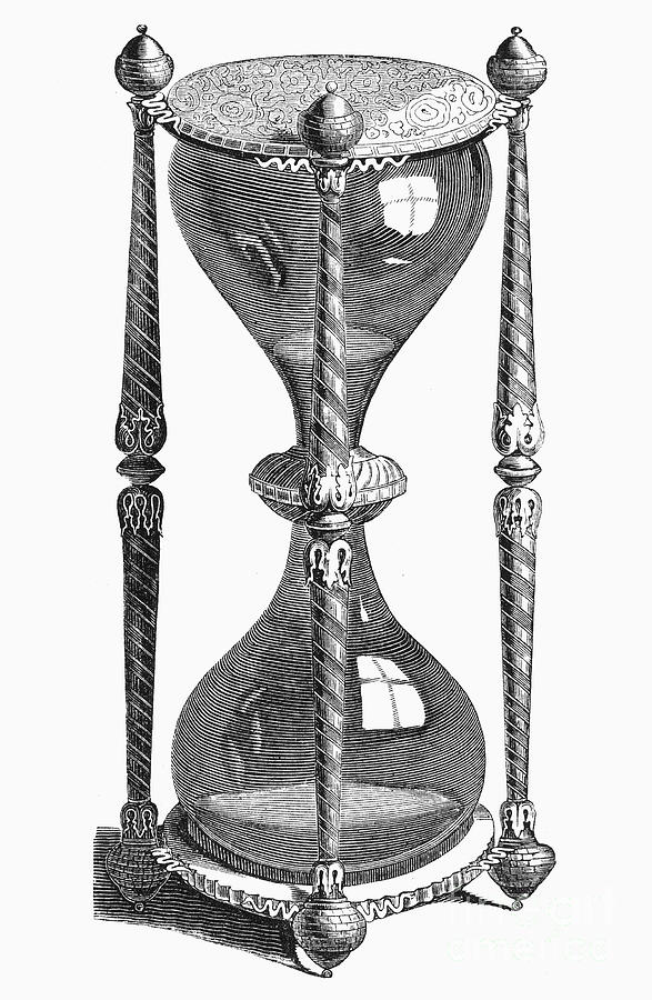 Hourglass, 16th Century Photograph by Granger