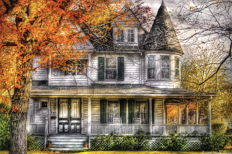 House - Classic Victorian Photograph  - House - Classic Victorian Fine Art Print