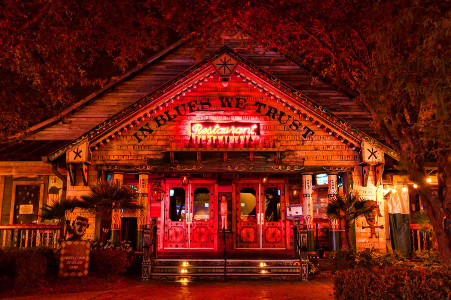 House Of Blues Digital Art  - House Of Blues Fine Art Print