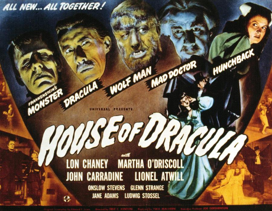House Of Dracula, Glenn Strange, John Photograph