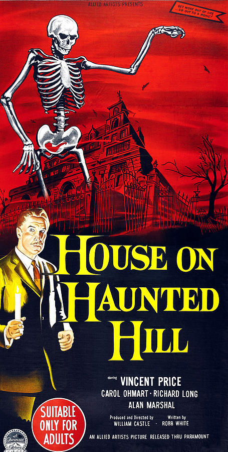 House On Haunted Hill, Bottom Left Photograph