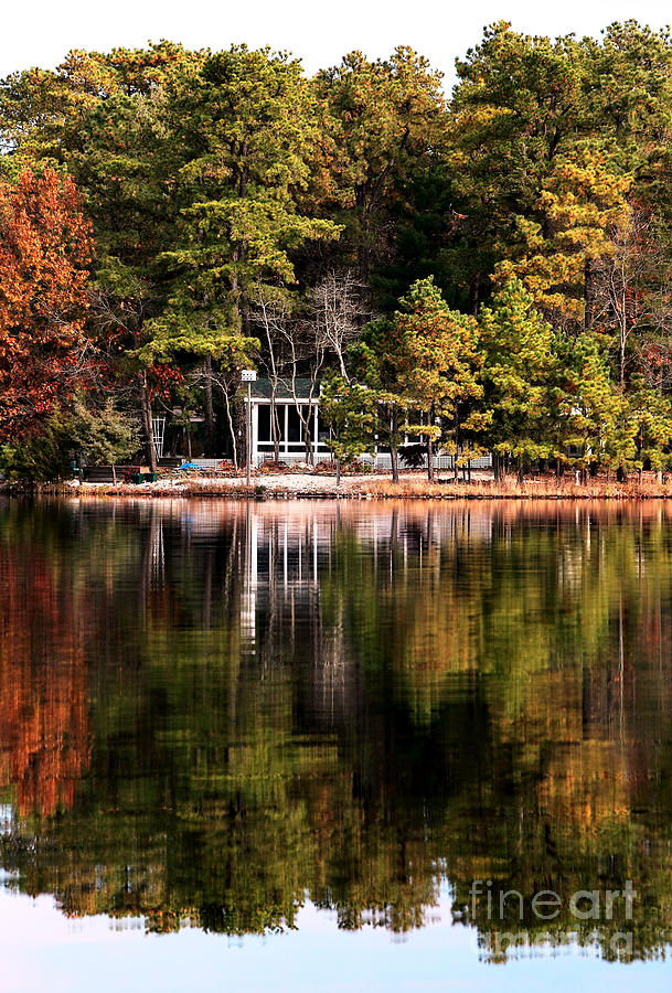 House On The Lake Photograph