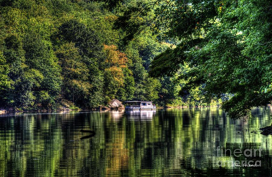 Houseboat On Lake Photograph