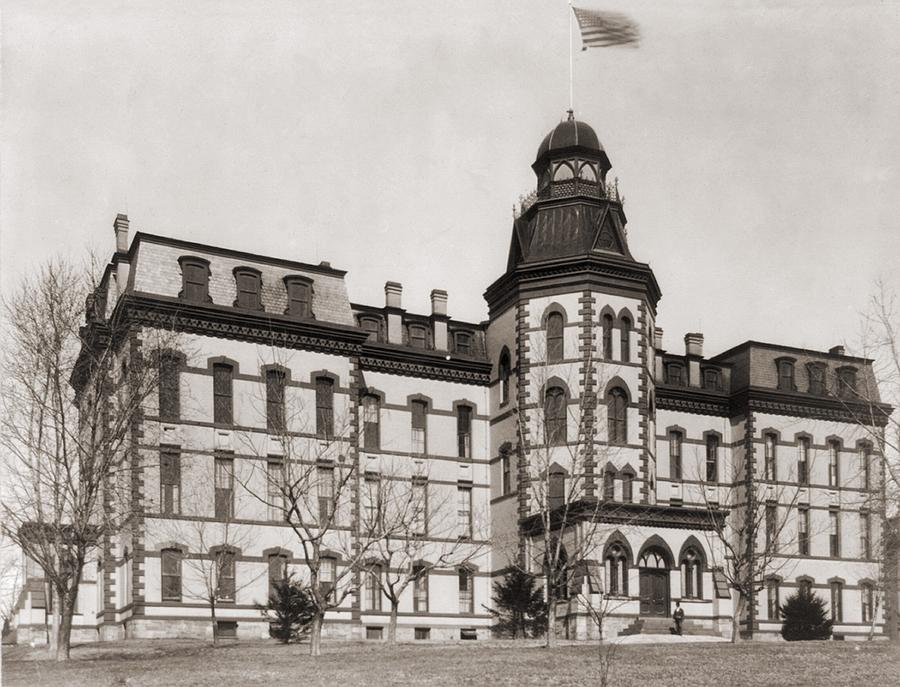 History Photograph - Howard University Was Founded In 1867 by Everett