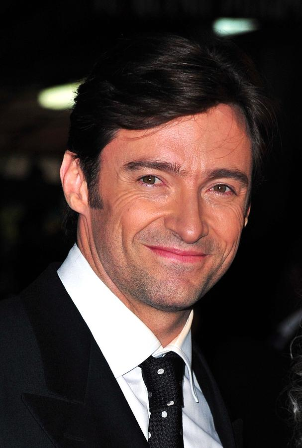 Hugh Jackman At Arrivals For Worldwide Photograph  - Hugh Jackman At Arrivals For Worldwide Fine Art Print
