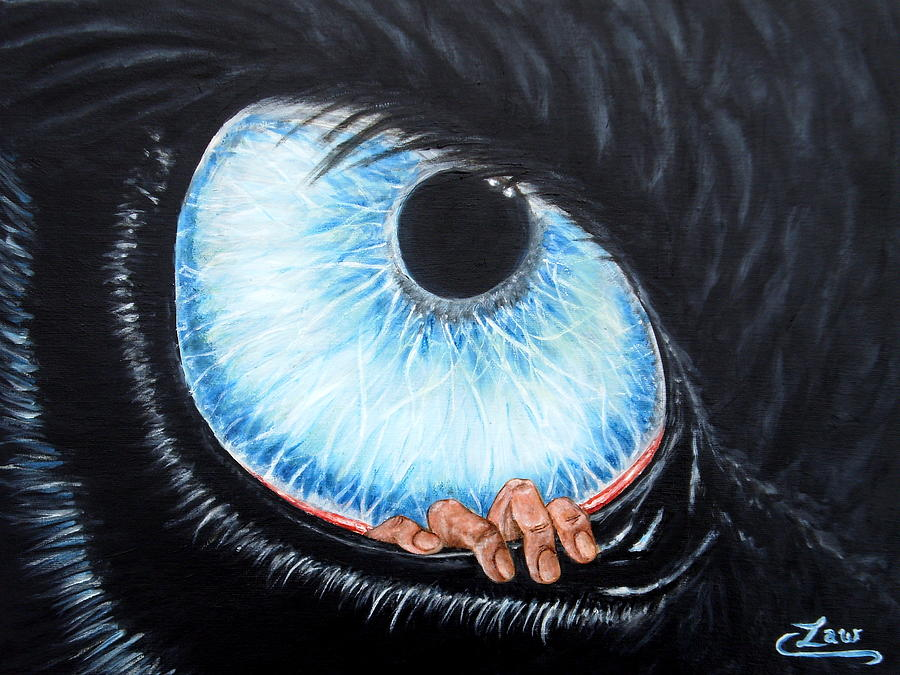 Human Irritant Painting
