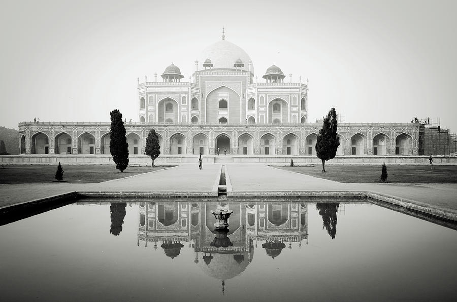 Horizontal Photograph - Humayun Tomb by Dhmig Photography