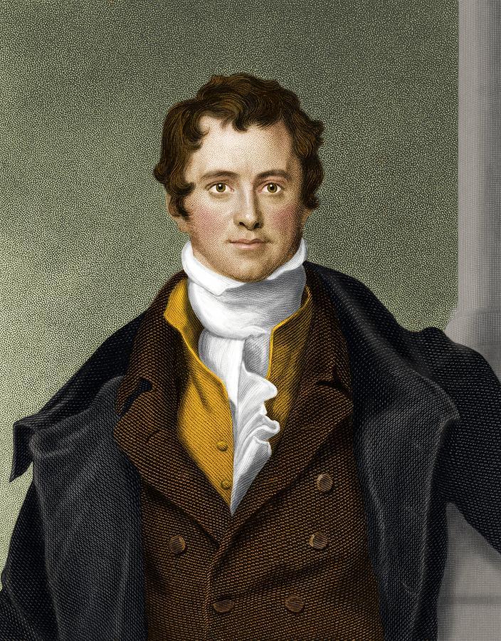 Humphry Davy, British Chemist Photograph