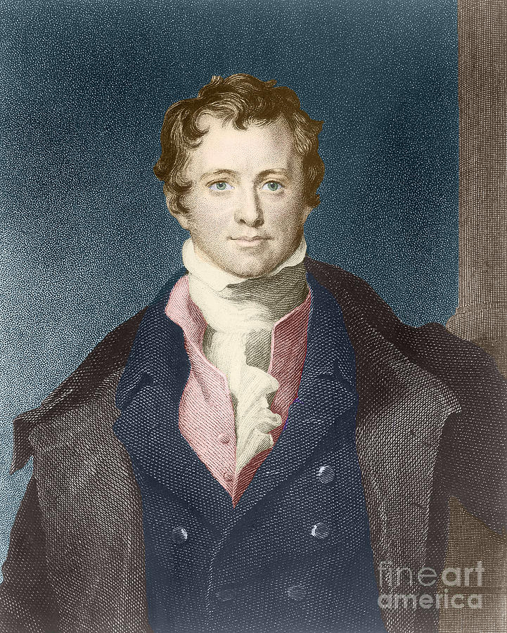 Humphry Davy, English Chemist Photograph