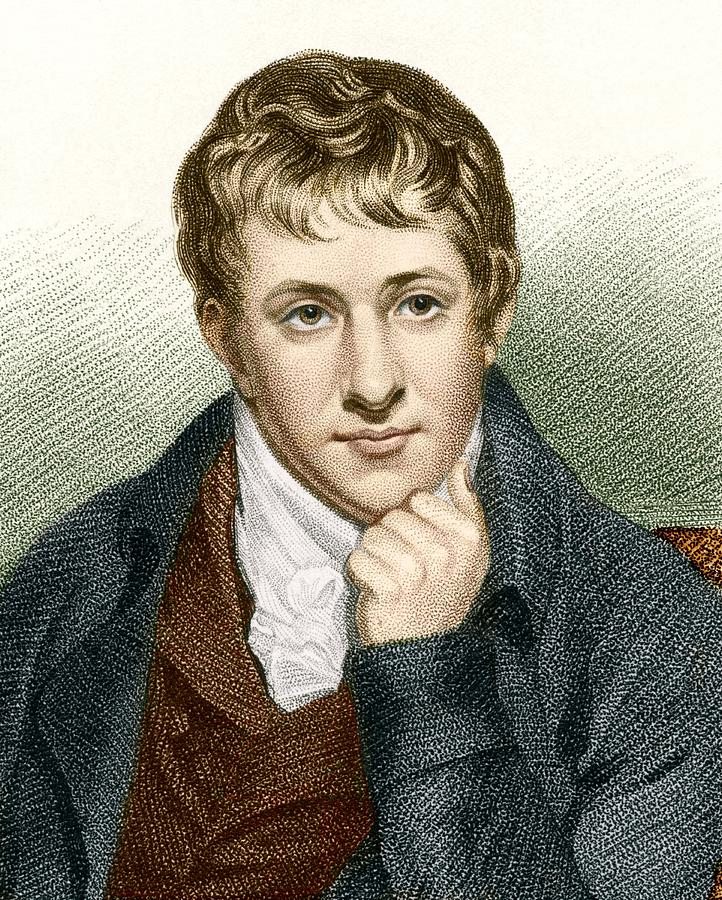 Humphry Davy Photograph - Humphry Davy, English Chemist by Sheila Terry