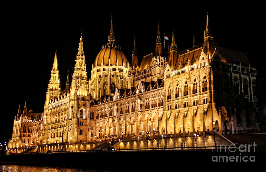 Hungarian Parliament Building Photograph