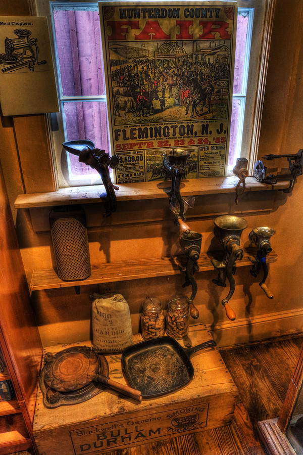 Hunterdon County Fair - General Store - Vintage - Nostalgia - Meat Grinders Photograph