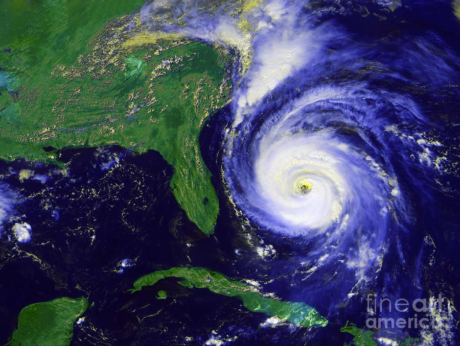 Hurricane Fran PhotographHurricane Art