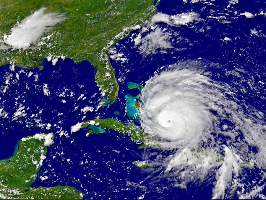 Hurricane Irene Near Cuba PhotographHurricane Art