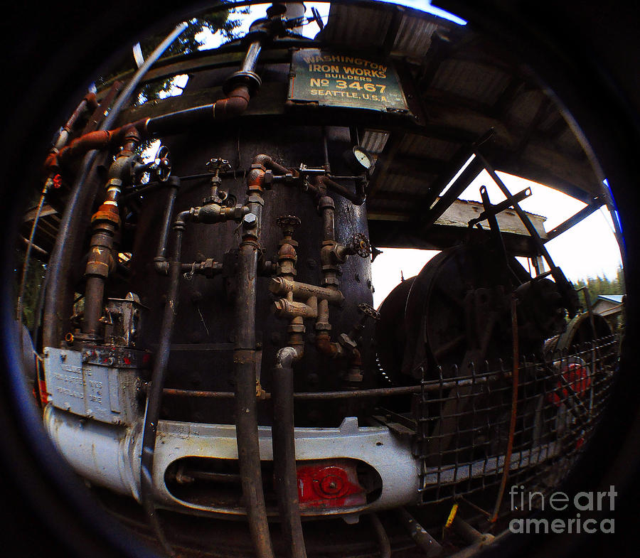 Hydraulic-mechanical Managerie Photograph  - Hydraulic-mechanical Managerie Fine Art Print