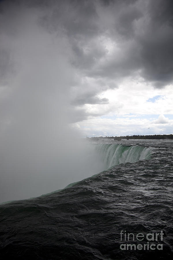 Niagara Falls Photograph - Hydro by Amanda Barcon