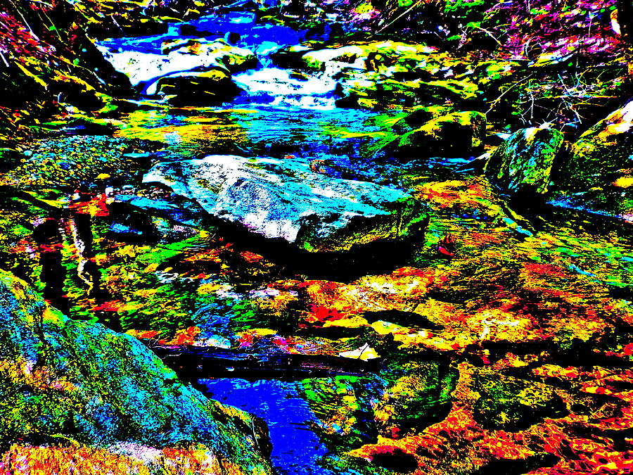 Hyper Childs Brook Z 52 Photograph  - Hyper Childs Brook Z 52 Fine Art Print