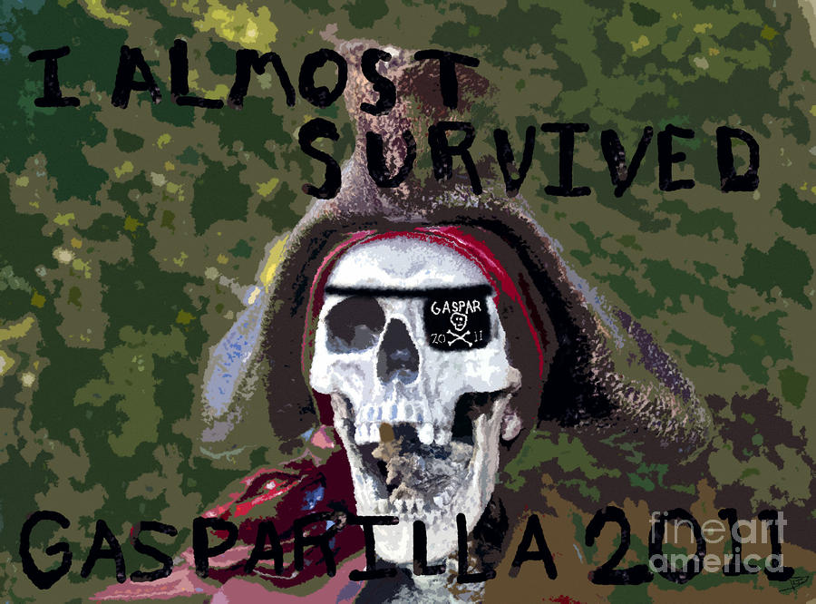 I Almost Survived Painting  - I Almost Survived Fine Art Print