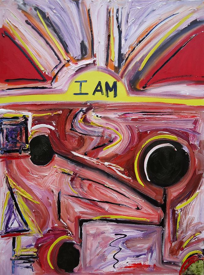 I Am Painting  - I Am Fine Art Print