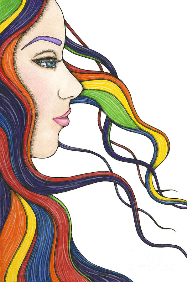 I Am My Own Rainbow Painting  - I Am My Own Rainbow Fine Art Print