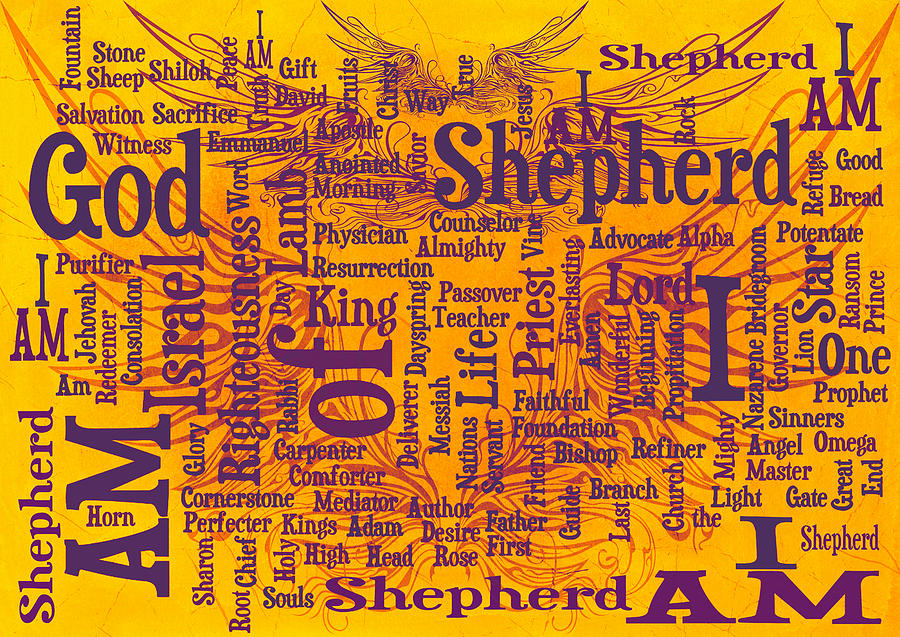 I Am Shepherd 2 Digital Art