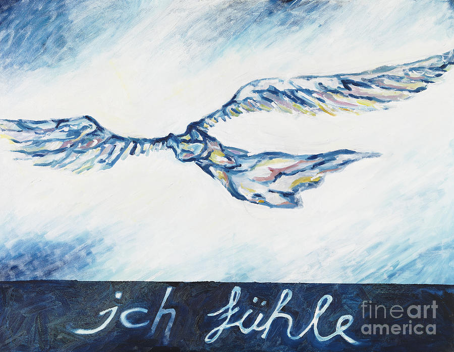 I Feel - Ich Fuehle. Painting