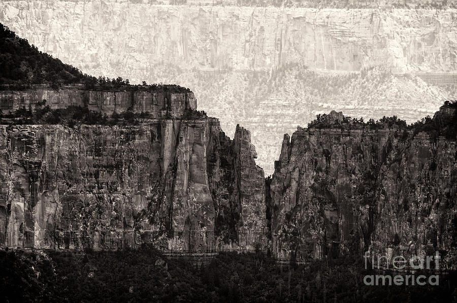 The Grand Canyon National Park Photograph - I Have Climbed  A Mountain by Venura Herath