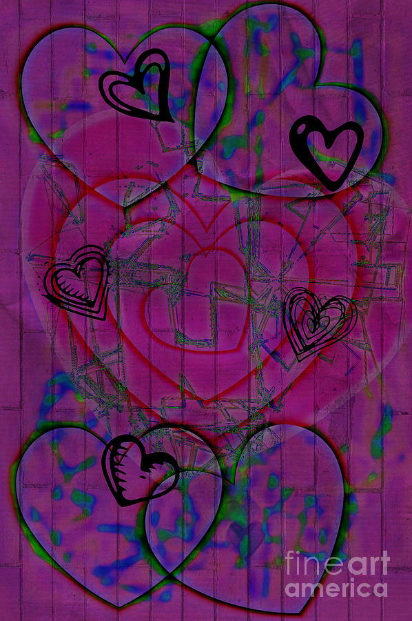 Love Graffiti Digital ArtLove Graffiti Images