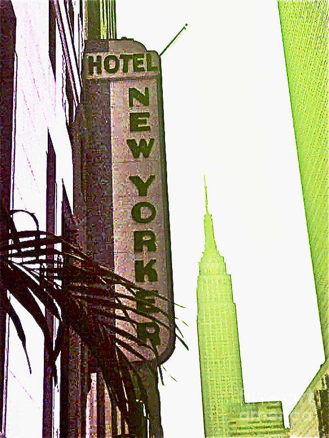 Ny Photograph - I Love New York by Beth Saffer