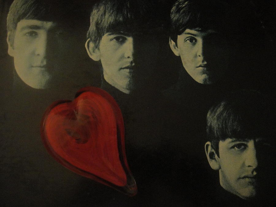 I Love The Early Beatles Music Photograph  - I Love The Early Beatles Music Fine Art Print