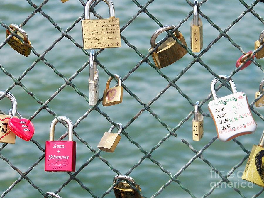 France Photograph - I Love You Paris by Francoise Leandre