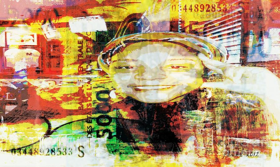 Fania Simon Mixed Media - I Loved I Paid  by Fania Simon